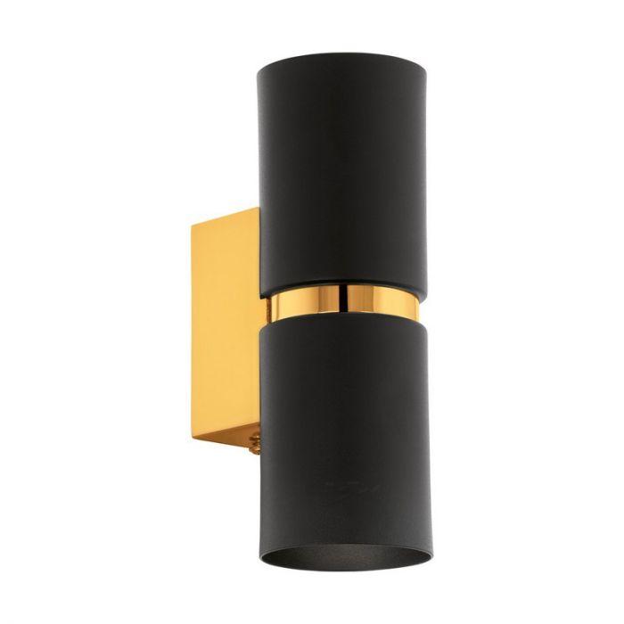 Annelotte wandlamp - Zwart Goud