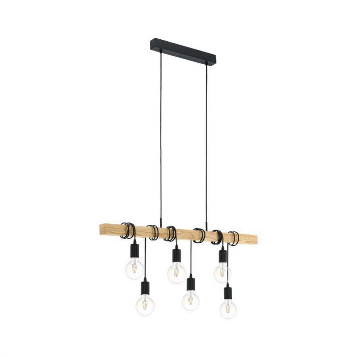 Anton hanglamp - Zwart