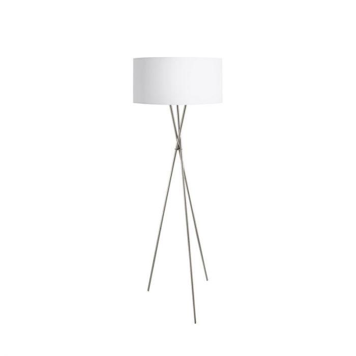 Anuschka vloerlamp - Nikkel-Mat