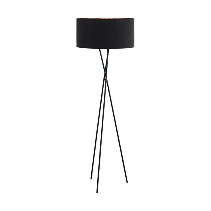 Anusha vloerlamp - Zwart