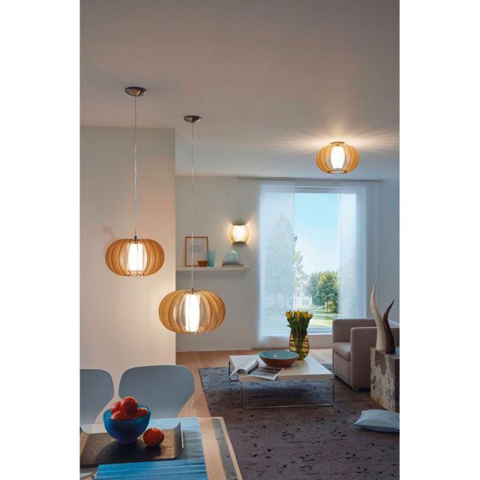 Arenda hanglamp - Nikkel-Mat