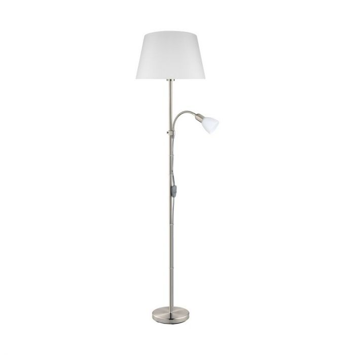 Arris vloerlamp - Nikkel-Mat