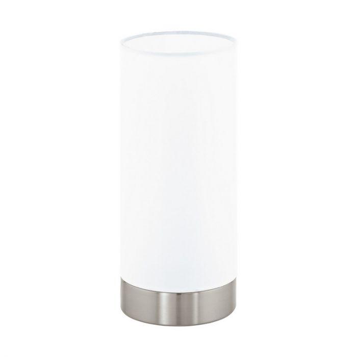 Asiya tafellamp - Nikkel-Mat