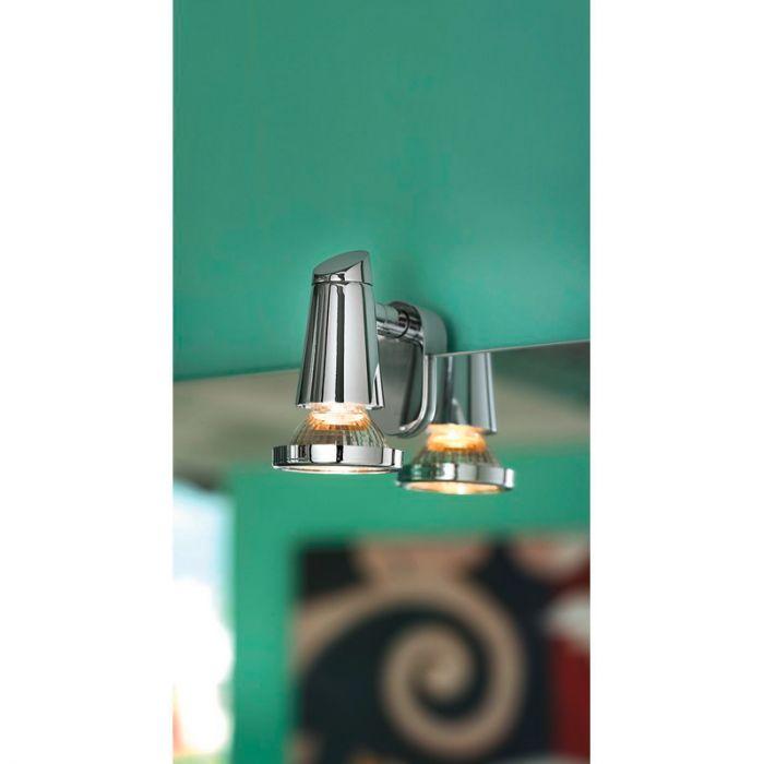 Aviva wandlamp - Chroom