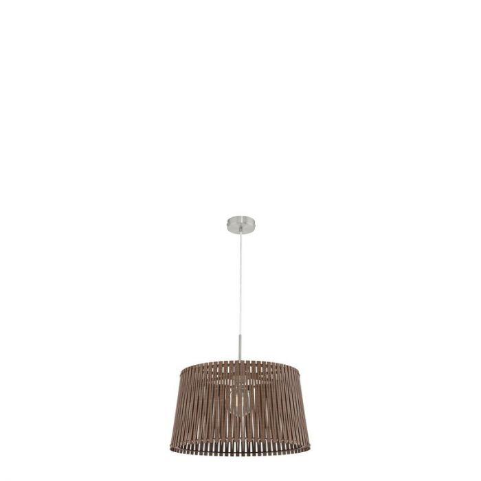 Bertina hanglamp - Nikkel-Mat