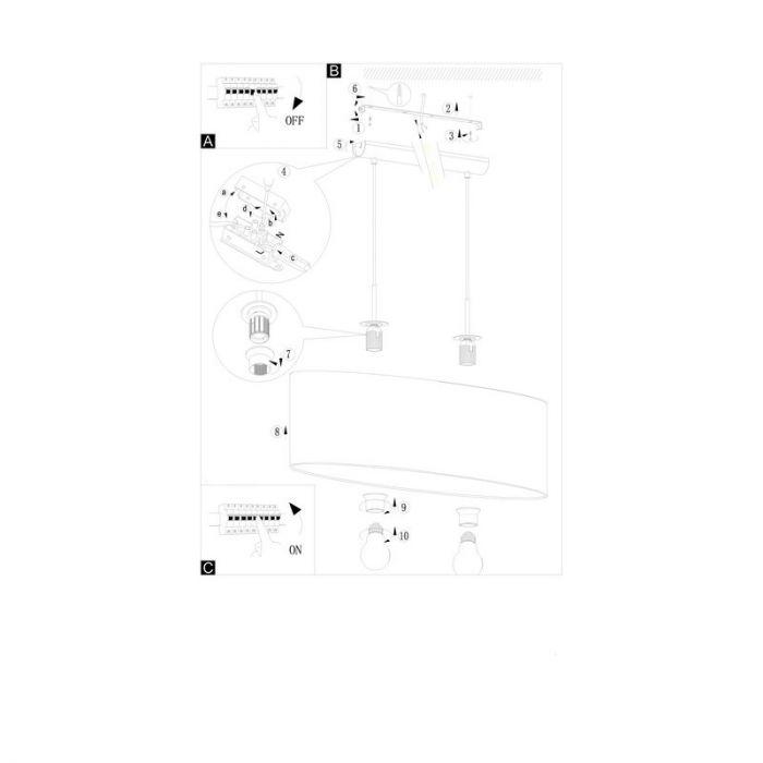 Boyd hanglamp - Nikkel-Mat