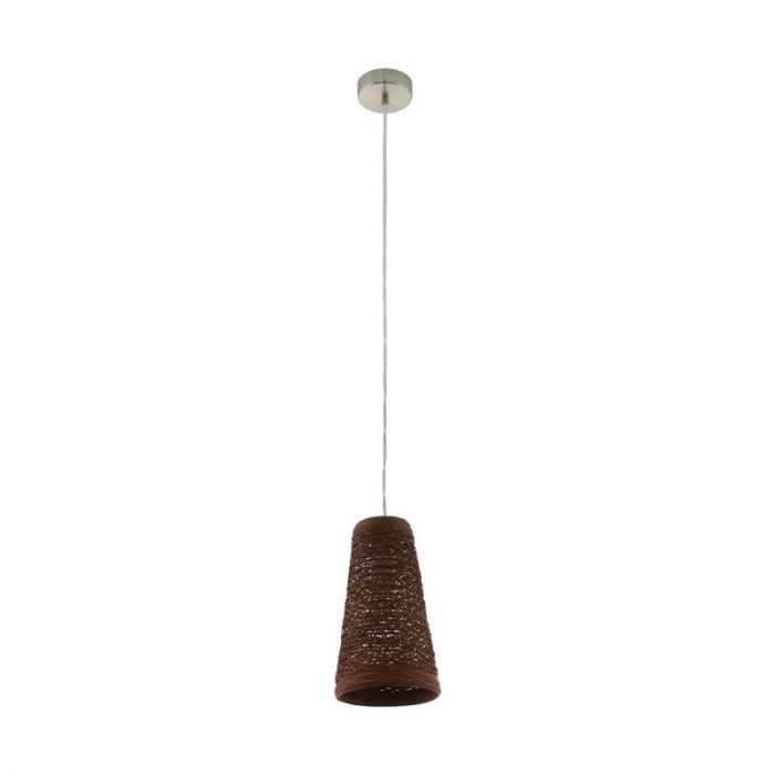 Britt hanglamp - Nikkel-Mat