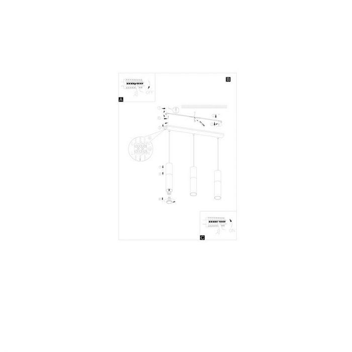 Cathelijn hanglamp - Nikkel-Mat Bruin